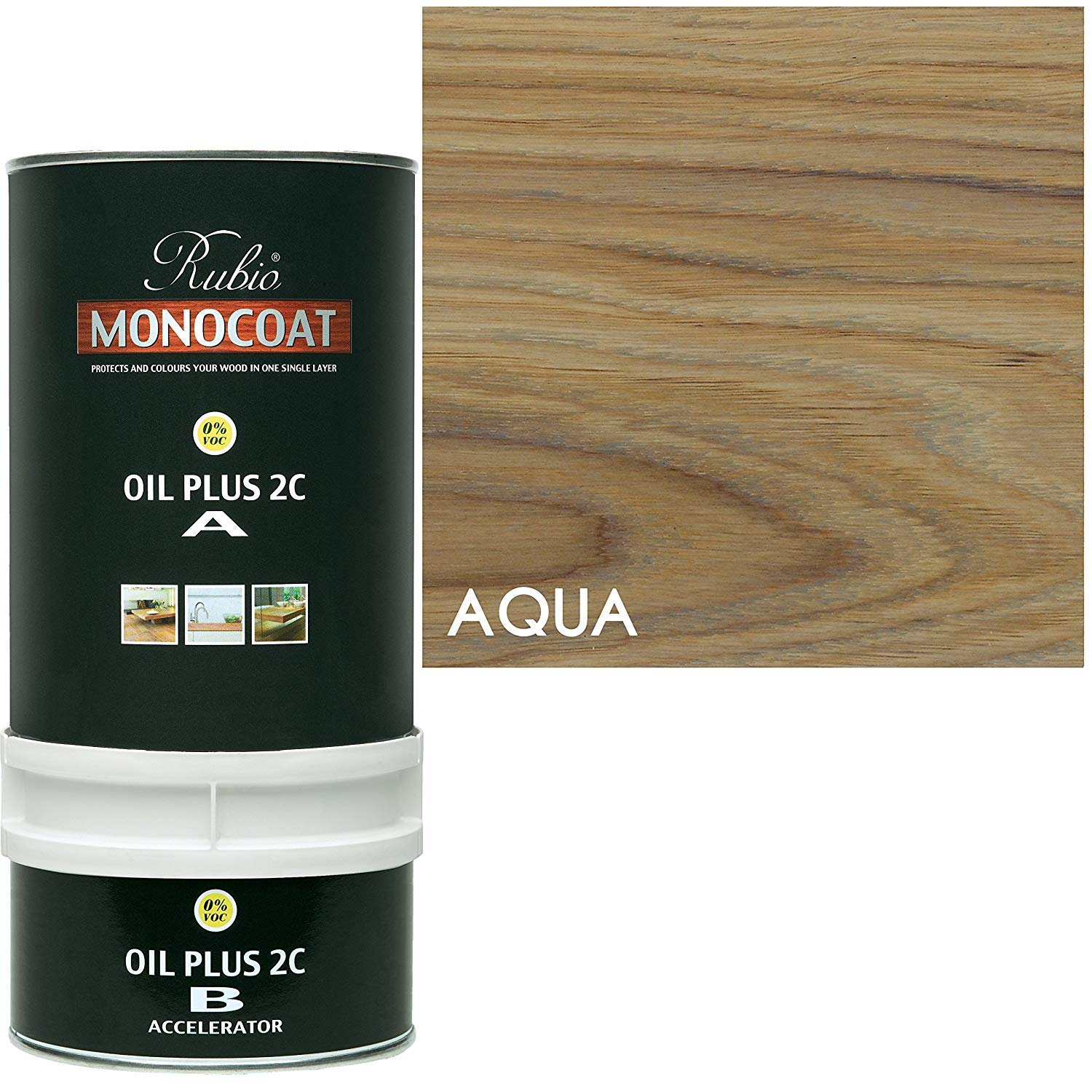 Rubio Monocoat Oil Plus 2C - Aqua
