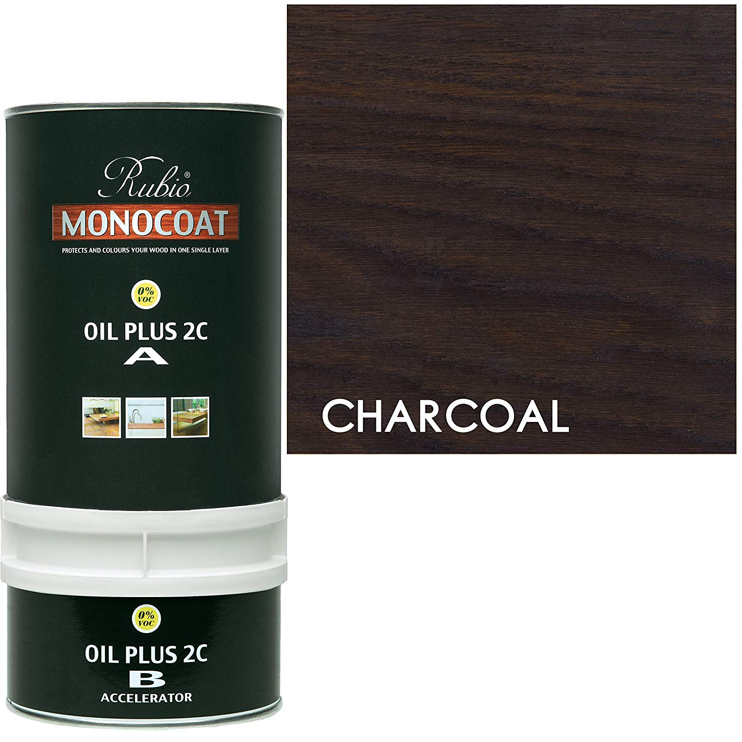 Rubio Monocoat Oil Plus 2C - Charcoal