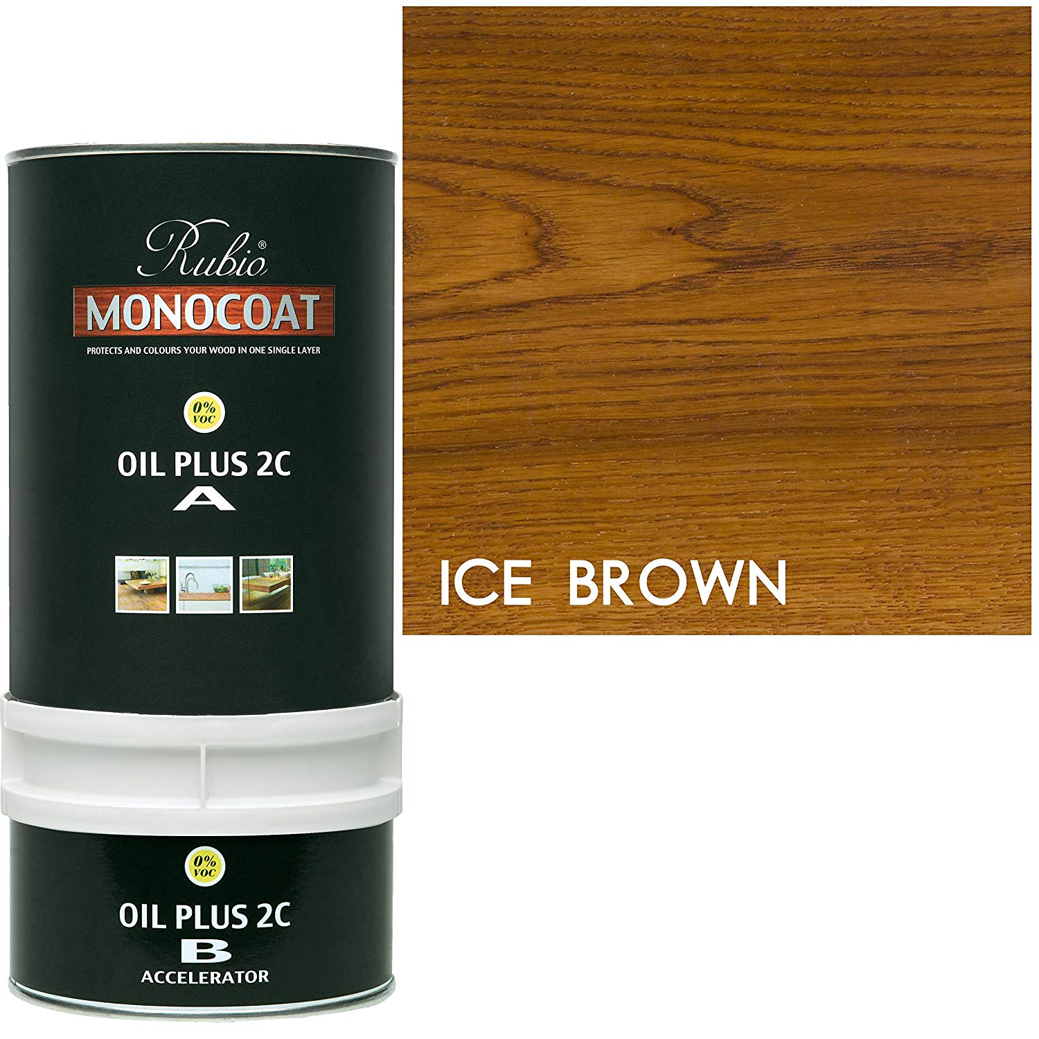 Rubio Monocoat Oil Plus 2C - Ice brown