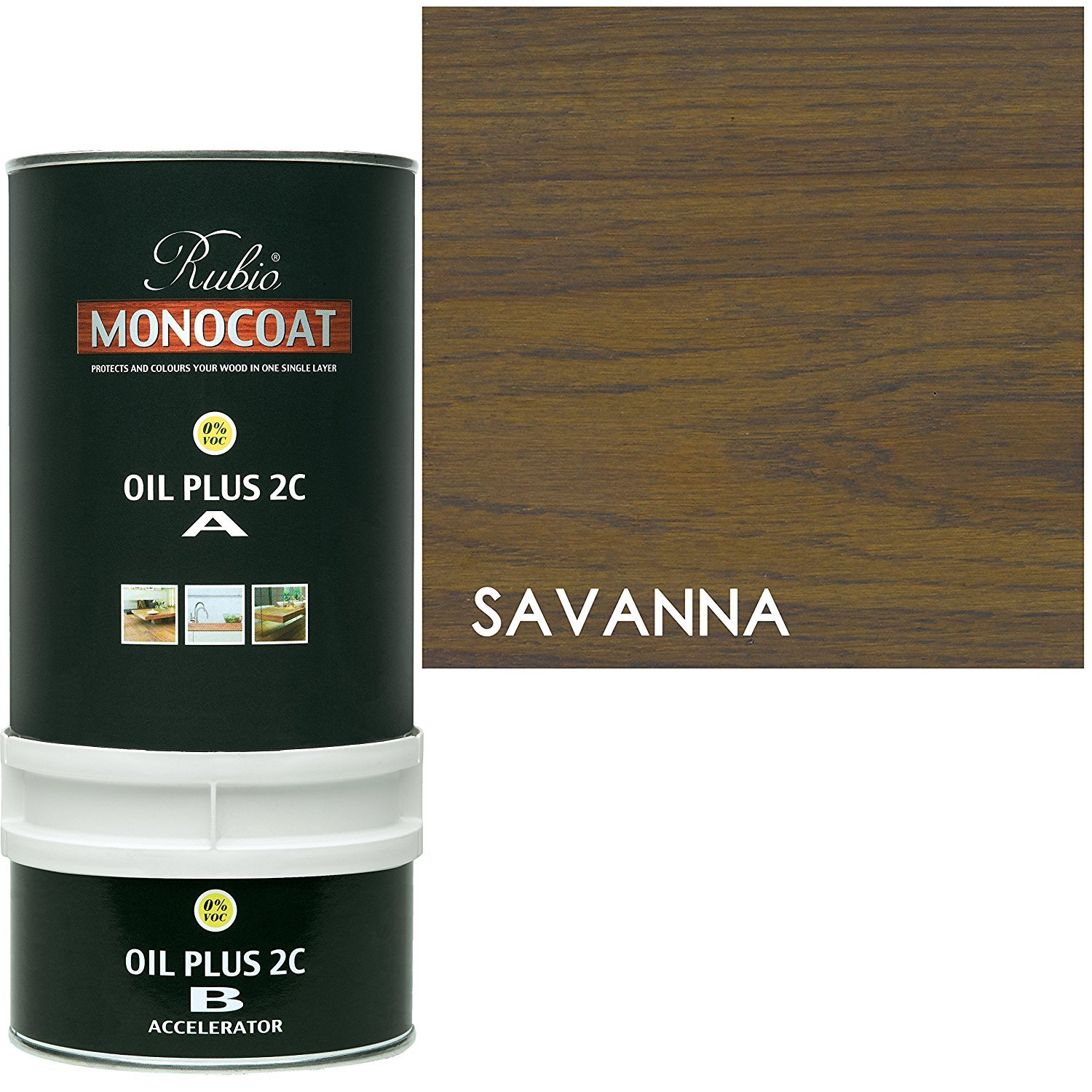 Rubio Monocoat Oil Plus 2C - Savanna