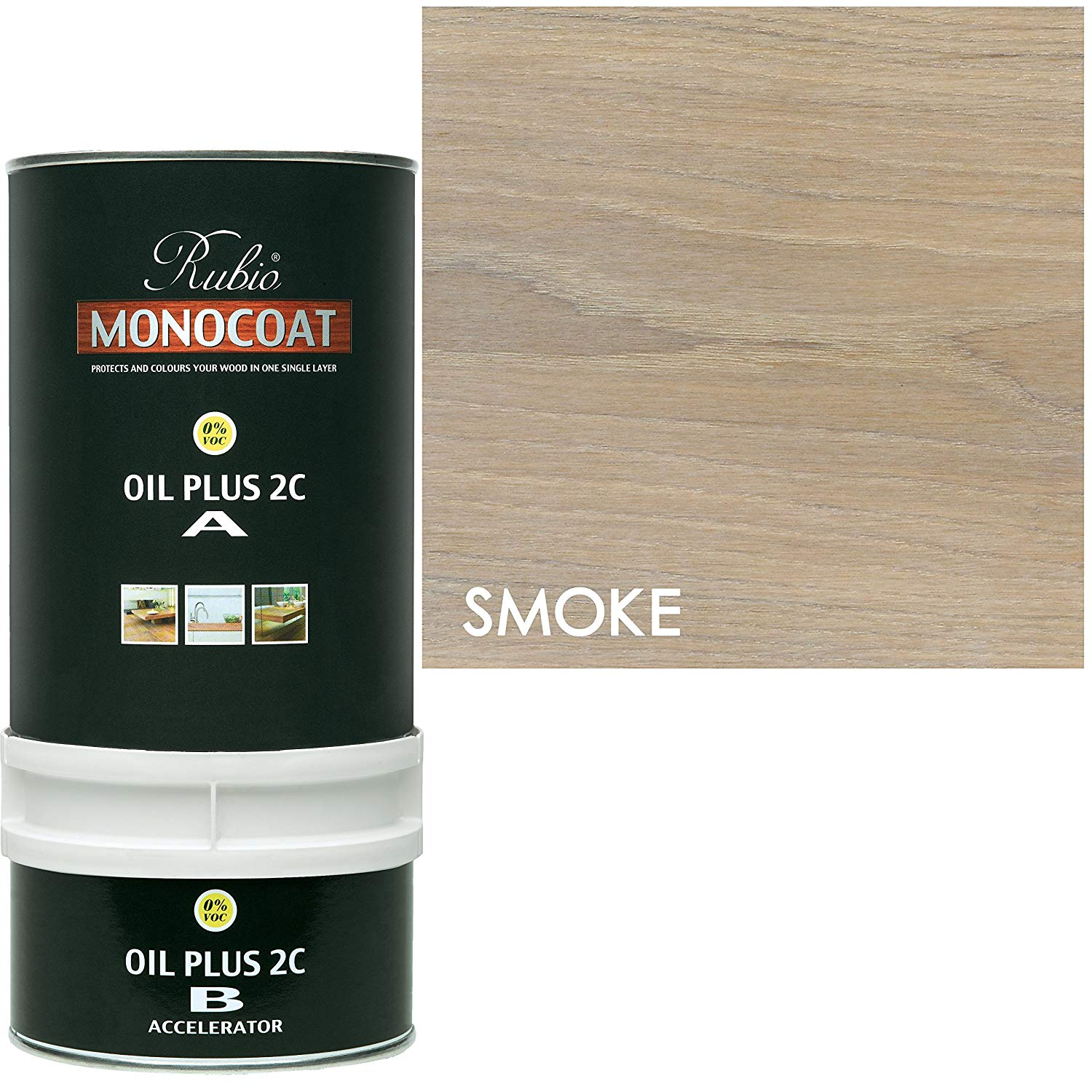 Rubio Monocoat Oil Plus 2C - Smoke
