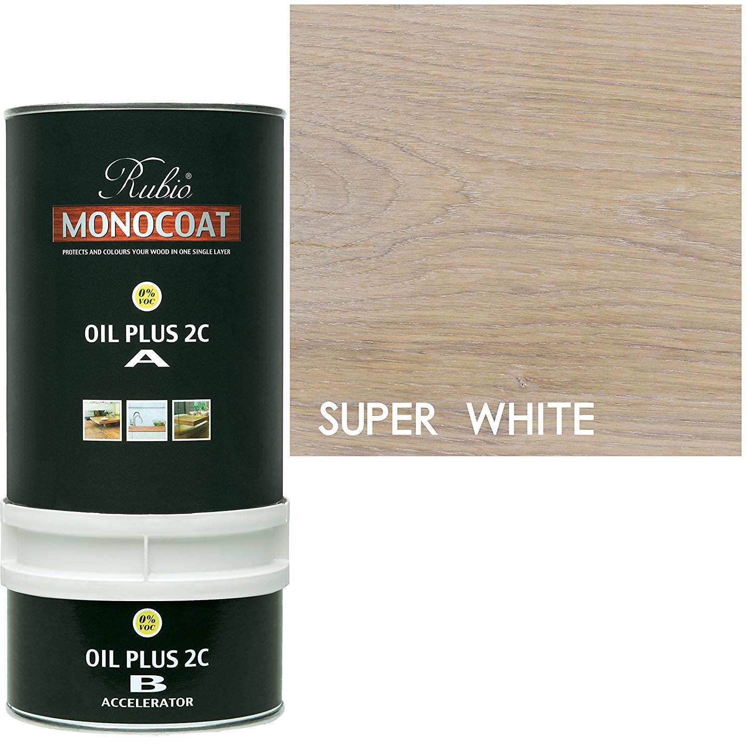 Rubio Monocoat Oil Plus 2C - Super white