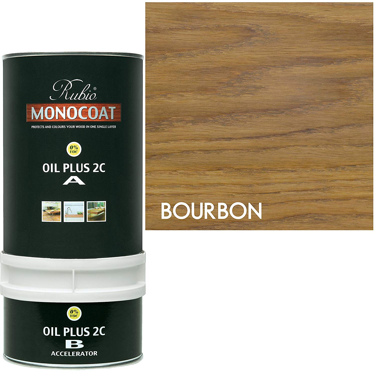 Rubio Monocoat Oil Plus 2C - Bourbon